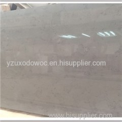 Grey Marble Like Artificial Quartz Stone Slab