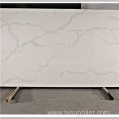 Carrara White Marble Color Quartz Stone Slabs