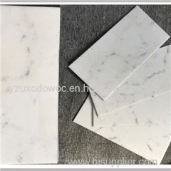 Carrara White Artificial Quartz Stone Marble Looking