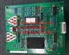 Mit elevator parts LCD indicator PCB LHD-601