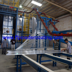 Vertical Line automatica Coating Powder