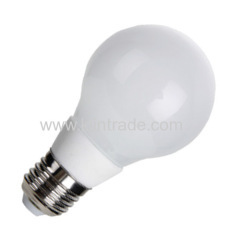 LED A60 glass bulb 7W 560lm 300° angle