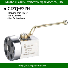 CJZQ type Ball stop valve ( QJZ type) CJZQ-G15H products