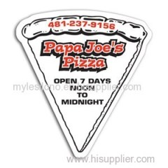 Pizza Slice Magnet Without Toppings 2.44in X 2.63in Magnets