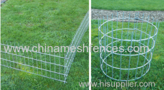 Galvanized Rabbit Guard Fence