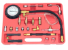 "3"" Gauge Engine Testing Tools 0-150psi Fuel Injection Oil Combustion Spraying Pressure Meter Kit"