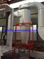 Powder Coating Booth Met Mono Cyclone
