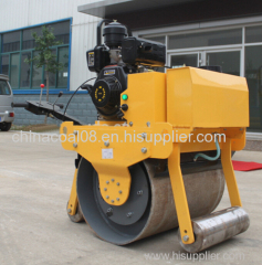 700mm width 500kg walk behind vibratory single drum roller (ZMYL-700)