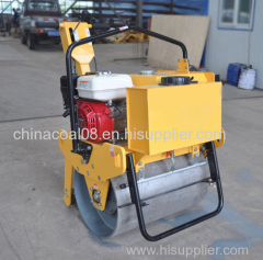 ZMYL-D600 New walk behind 5.5HP single drum vibration road roller