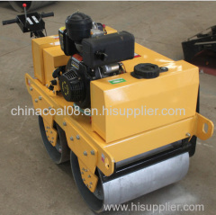 Vibrating Double Drum Portable Road Roller Compactor (ZMYL-S600C)