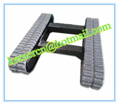 rubber track undercarriage / rubber crawler undercarriage / rubber track system