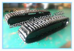 6 ton rubber track undercarriage / rubber carwler chassis/ rubber tracked undercarriage