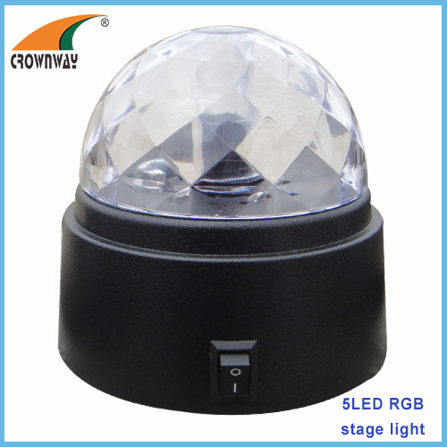 RGB coloring Led stage light coloring indoor light holiday and party lamps ball light
