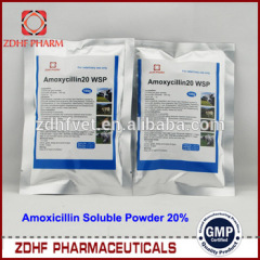 veterinary antibiotic medicine amoxicillin soluble powder for chicken