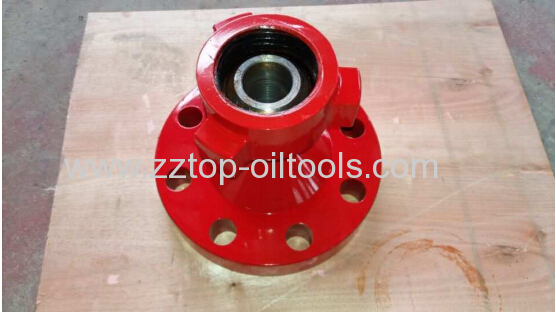 Wellhead flange adapter m quot weco male