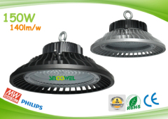 IP65 137.92lm per watt 150w UFO led industrial bells