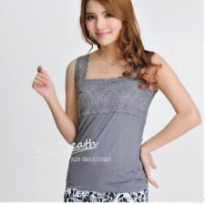 Apparel&Fashion Sportswear Sport Jerseys&Tops Fashion Women's Bamboo V-neck Vest Summer Loose Sleeveless Tank Top