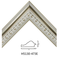 Wholesale European Style PS Mouldings White Embossed Decorative Molding