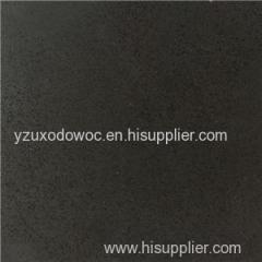 Pure Black Color Quartz Stone For Countertop