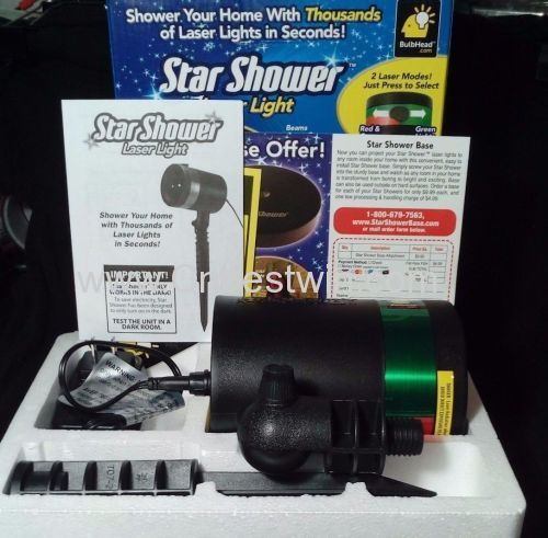 Star Shower Laser Light/as seen on tv Star shower/Star shower manufacturer