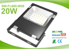 IP65 20w Reflector LED for outdoor flood lighting