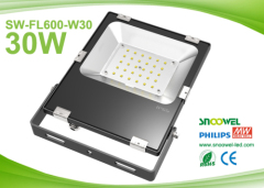 IP65 30 watts LED flood lamp with PCcooler radiator
