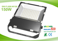 IP65 SMD LED flood light 150w with Philips LED