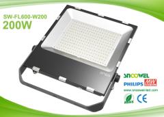 IP65 outdoor LED flood lamp 200w with PCcooler radiator