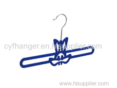 28cm Stylish rabbit design non-slip baby hanger made in China