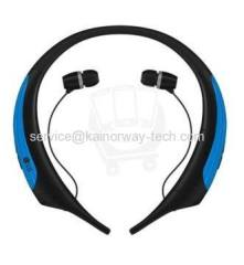 2016 LG Tone Active HBS-850 Blue Black Wireless Bluetooth Neckband Headphone Headsets