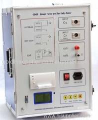 Transformer Power Factor and Tan Delta Tester