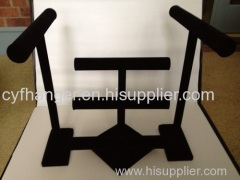 Black velvet customized jewelry rack High quality avoid scratching of jewelry