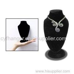 Hot sale black flocked jewelry organizer/rack made in China
