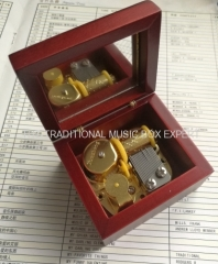 Wooden Music Box Mechanical Movements