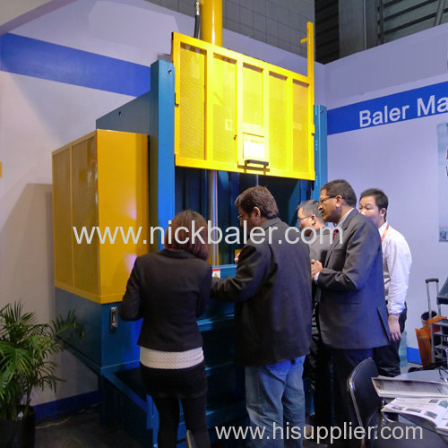 Push automatic horizontal waste hydraulic balers social harmony and progress of science and technology degrees higher