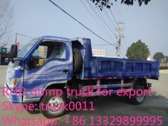 forland LHD/RHD 4*4 all wheels drive dump truck for sale