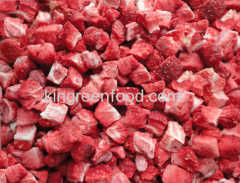 freeze dried strawberry dices