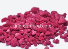 gevriesdroogde framboos granules