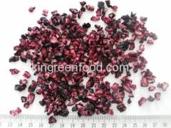 лиофилизированные гранулы черники 1-5 мм