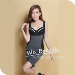 Apparel&Fashion Underwear&Nightwear Shapers Women's Bamboo Slim Full Body Waist Cincher Tummy Shaper Shapewear Body Suit