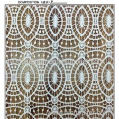 Geometry Design Guipure Embroidery Lace Fabric (S1096J)