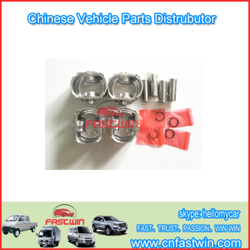 PISTON SETS FOR CHINA CAR HAFEI JUNYI 513