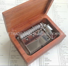 No Paint Wood Auto Motor Paper Strip Music Boxes
