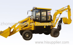 backhoe loader with 0.4m3 rated bucket capacity SZ40-16