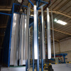 Vertical Powder Coating Plant for aluminum profiles