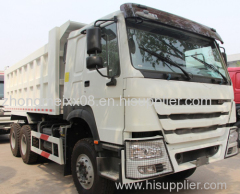 Chinese supplier 6x4 self loading truck/Stock Dump truck