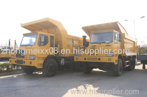 70 Tons(GW) Mining Tipper 6x4