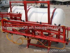 Farm machine tractor boom sprayer