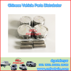 PISTION SETS FOR HAFEI LUZUN CAR