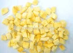 gevriesdroogde mango dobbelstenen